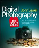 Digital Photography for Next to Nothing PDF