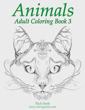 Animals Adult Coloring Book 3