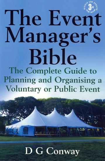 The Event Manager s Bible 3rd Edition PDF