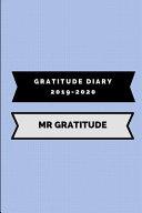 Gratitude Diary 2019-2020 MR Gratitude