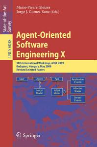 Agent Oriented Software Engineering X PDF