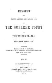 United States Reports: Cases Adjudged in the Supreme Court, Volume 56