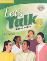 Let s Talk Level 2 Student s Book with Self study Audio CD PDF