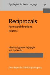 Reciprocals: Forms and functions, Volume 2