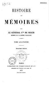 Histoire et mémoires,...