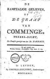De rampzalige gelieven, of de Graaf van Comminge, toneel-dicht