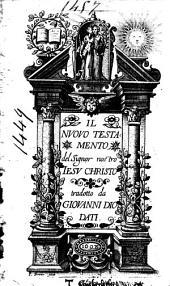 Il Nuovo Testamento del Signor nostro Iesu Christo