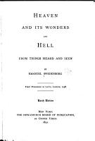 Heaven and Its Wonders and Hell PDF