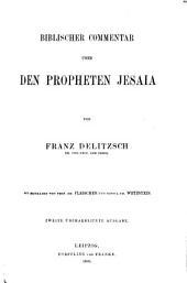 Biblischer Commentar über das Alte Testament: Prophetische Bücher. Dritter Teil