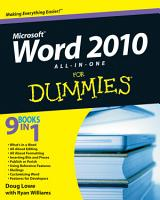 Word 2010 All in One For Dummies PDF