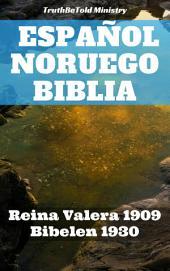 Español Noruego Biblia: Reina Valera 1909 - Bibelen 1930
