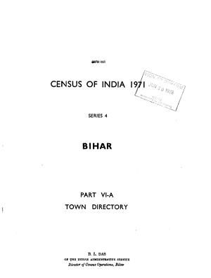Census of India  1971 PDF