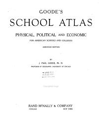 Goode s School Atlas