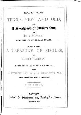 A Treasury  Or Storehouse of Similes PDF