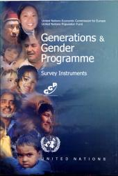 Generations & Gender Programme: Survey Instruments