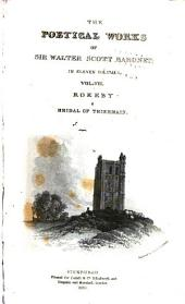 The Poetical Works of Sir Walter Scott, Baronet: Volume 7