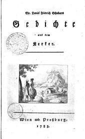 Chr. Daniel Friedrich Schubarts Gedichte aus dem Kerker