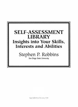 Self Assessment Library  Print  Non Saleable PDF