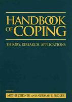 Handbook of Coping PDF