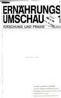 Ern  hrungs  Umschau PDF