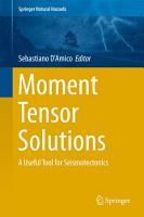 Moment Tensor Solutions PDF