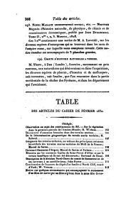 Bulletin des sciences naturelles et de géologie: Volume20