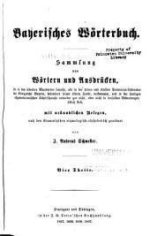 Bayerisches wörterbuch: Band 2