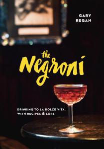 The Negroni Book