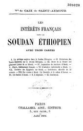 Les intérêts français dans le Soudan éthiopien