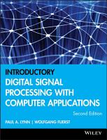 Introductory Digital Signal Processing with Computer Applications PDF