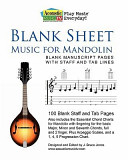 Blank Sheet Music for Mandolin PDF