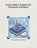 Hilarious Status Updates and Guide for Facebook PDF