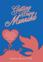 Getting and Being Married PDF