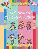 Kids Animal Coloring Book