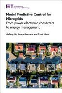 Model Predictive Control for Microgrids