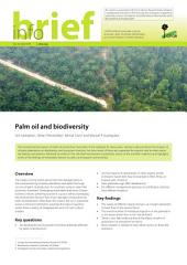 Palm oil and biodiversity