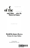 The shadow of the hawk  and other stories by Marie de France PDF