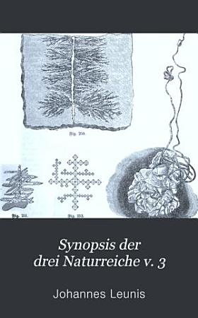 Synopsis der drei Naturreiche v  3 pt  1  1875 PDF