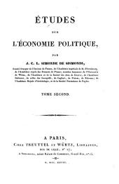 Etudes sur l'économie politique: Volume2