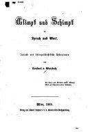 Glimpf Und Schimpf in Spruch Und Wort PDF