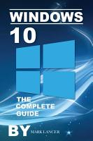 Windows 10  The Complete Guide PDF
