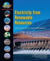 Electricity from Renewable Resources PDF