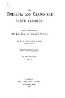 The Divina Commedia and Canzoniere of Dante Alighieri PDF