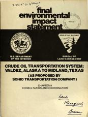 Crude Oil Transportation System  Valdez  Alaska to Midland  Texas PDF