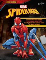 Learn to Draw Marvel s Spider Man PDF