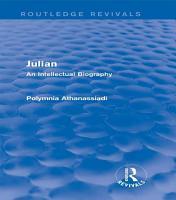 Julian  Routledge Revivals  PDF