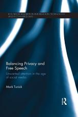 Balancing Privacy and Free Speech PDF