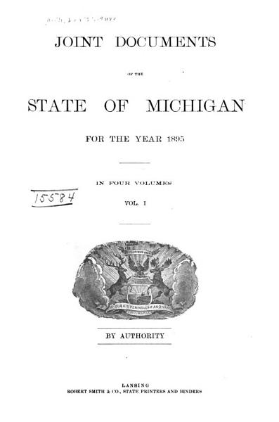 Download Joint Documents of the State of Michigan Book
