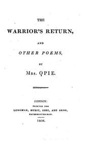 The Warrior's Return, and Other Poems