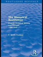 The Historical Revolution  Routledge Revivals  PDF